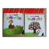 【二手旧书9成新】袋鼠妈妈 婴儿第一套视觉翻翻书:什么掉下来了、是哪一个呀(两?