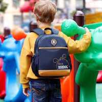 巴布豆幼儿园书包学前班超轻三岁五岁大班小班儿童小书包减负