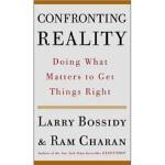 【正版现货】Confronting Reality 面对现实: 做对的事情 Larry Bossidy(拉里・博西迪)