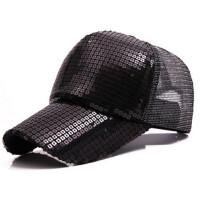 亮片棒球帽女士防晒夏天透气网帽鸭舌帽凉帽遮阳帽太阳帽