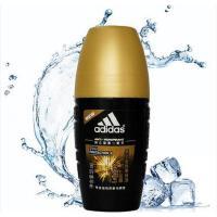 Adidas/阿迪达斯 男士 止汗香体走珠液50ml 征服 乳液