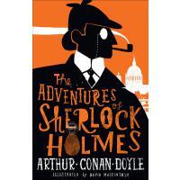 现货 福尔摩斯探案集:冒险史英文原版The Adventures of Sherlock Holmes柯南道尔世界经典侦