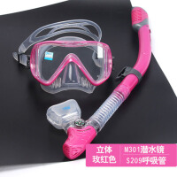 防雾面罩近视潜水镜装备浮潜三宝套装全干式游泳呼吸管大人