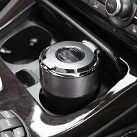 日本YAC 车载烟灰缸车用耐高温烟灰缸 创意太阳能充电汽车烟灰缸