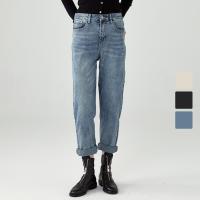 【再叠9折礼券】网易严选 女式复古锥形牛仔裤