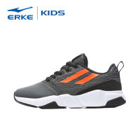 【3件3折到手价:71.7元】鸿星尔克(ERKE)男童鞋儿童运动鞋女童鞋中性防滑慢跑鞋弹力舒适跑步鞋中大童多彩拼接休闲鞋