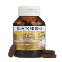 【澳洲直邮】Blackmores减压抗疲劳澳佳宝白领B族抗压配方62片 2瓶价 海外购