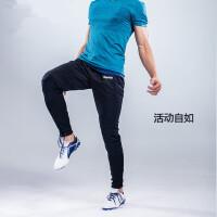 男士时尚休闲运动长裤 足球训练裤束腿裤运动裤 小脚裤