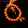 水晶密码CrystalPassWord 天然三宝菩提手珠男女款(橙色)TGMY1Q064