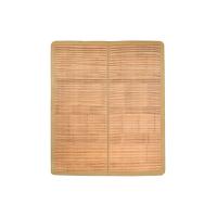 [满199减40]网易严选 天然宽篾头层青碳化竹凉席