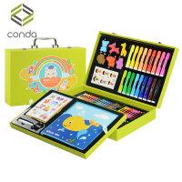 儿童绘画套装小学生儿童画笔套装礼盒画画工具小学生水彩笔美术绘画用品幼儿园礼物