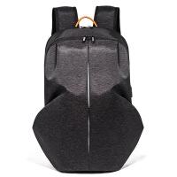 新款双肩包男士休闲防水电脑包时尚运动背包学生书包旅行背包