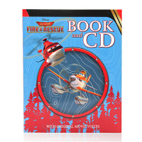 Disney Planes Fire and Rescue Book and CD 迪士尼经典动画 飞机总动员 皮克斯动画电影 书+CD