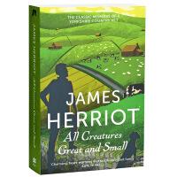 【中商原版】吉米.哈利:既伟大又渺小 英文原版 散文 All Creatures Great and Small Ja