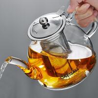光一玻璃茶具大容量套装耐高温可明火加热电陶炉煮细滤网单个泡茶水壶