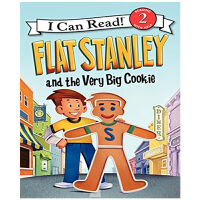 【中商原版】英文原版 Flat Stanley and the Very Big Cookie