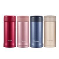 日本象印保温杯SM-AZE35进口不锈钢真空保冷保温瓶情侣水杯子360ml