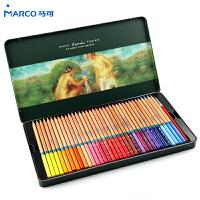 马可铅笔 雷诺阿系列 3120-24TN/36TN 3120-48TN 48色彩铅笔 水溶性彩色铅笔 铁盒装水溶彩铅套