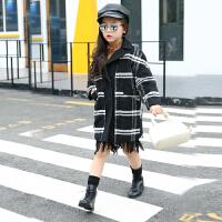 童装女童装2016新款呢大衣毛呢外套中长款加厚中大童呢子风衣潮