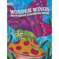 【预订】Wonder Wings Butterfly Coloring Book 9780486789378