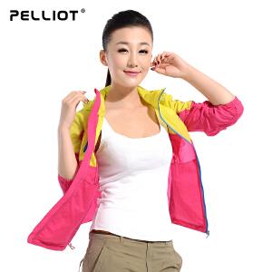 【保暖节-狂欢继续】法国PELLIOT/伯希和 户外皮肤衣男女 防晒衣透气防 情侣皮肤风衣外套