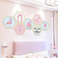 卧室网红房间装饰品墙贴纸少女心创意租房出租屋改造自粘墙纸