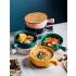 陶瓷碗创意大号面碗烤碗沙拉碗家用个性汤碗手柄泡面碗北欧餐具