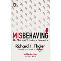 """【预售 】英文原版 """"错误""""的行为:行为经济学的形成 Misbehaving 2017年诺贝尔经济学奖得主理查德・泰勒作"""