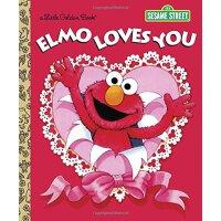 英文原版 芝麻街:阿莫的情人节之歌 Elmo Loves You (Sesame Street)