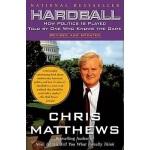 【中商原版】硬球(罗辑思维书单)英文原版 Hardball: How Politics Is Played 克里思?马