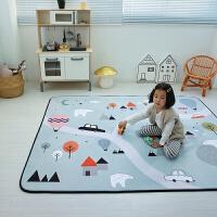 宝宝爬行垫卡通加厚环保儿童客厅家用地垫游戏毯婴儿爬爬垫慢回弹 150*200cm3.25KG