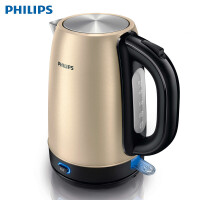 飞利浦(Philips)电水壶 HD9330/50 食品级304不锈钢保温1.7L大容量(土豪金)