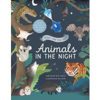 【预订】What Can You See? Animals in the Night: Use the Star Li