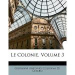 【预订】Le Colonie, Volume 3 9781141762934