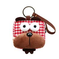 零钱包女韩国迷你可爱小方包创意多功能硬币包帆布公交卡包新品钥匙包