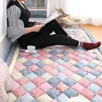 韩式韩国 加厚棉棉拼布家用地毯卧室满铺床边爬行地垫榻榻米