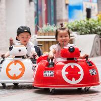 儿童电动车四轮摩托车汽车1-3摇摆童车4-5岁可坐碰碰车宝宝玩具车