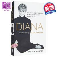 戴安娜王妃传记 Diana Her 1 Story in Her Own Words 英文原版 安德鲁莫顿 AndrewMorton Simon & Schuster