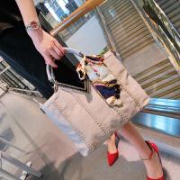 包包2018款潮复手提包时尚女包休闲单肩斜挎包女士大包袋