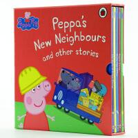 啥是佩奇【中商原版】粉红猪小妹 小猪佩奇 英文绘本 英语原版 Peppa pig Peppa's New Neighbours 粉红佩佩猪 正版绘本 进口正版