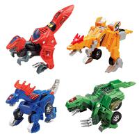 vtech 伟易达变形恐龙儿童益智变形玩具可变汽车二代小小龙