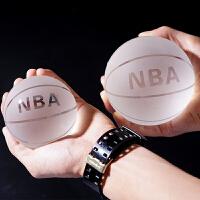 水晶球摆件篮足球模型diy定制创意新奇特别的生日礼物送男生朋友