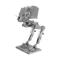 金属 DIY拼装模型 3D立体 免胶纳米拼图 星球大战 ATST光轮HALO螳螂号