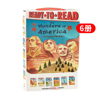 准备阅读系列1级 美国奇观 英文原版 Ready to Read Level 1 6册盒装