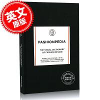 现货 时尚百科记事本 英文原版 Fashionpedia - The Visual Dictionary Of Fas
