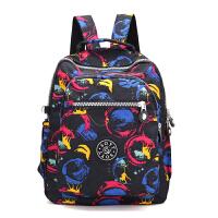 新款韩版休闲旅行小背包中老年简约轻便尼龙双肩包女大中学生妈妈书包