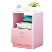 床头柜简约现代简易迷你多功能收纳柜小柜子经济型卧室储物柜 组装