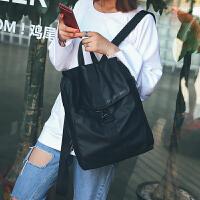 2018简约水尼龙布书包双肩背包男女韩版潮学生休闲旅行背包