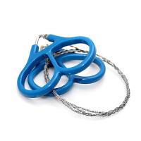 不锈钢线锯 链锯 绳锯 钢丝锯 救生锯360度旋转 多功能户外工具