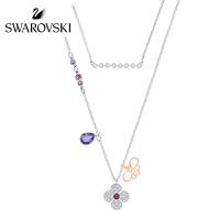 SWAROVSKI/施华洛世奇 Glowing新品可变二合一女项链套装礼物 蜜蜂花朵5273297